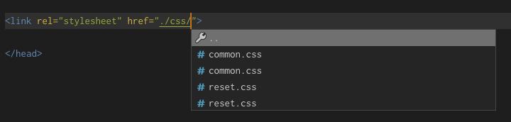 Path Autocomplete vscode 拡張機能
