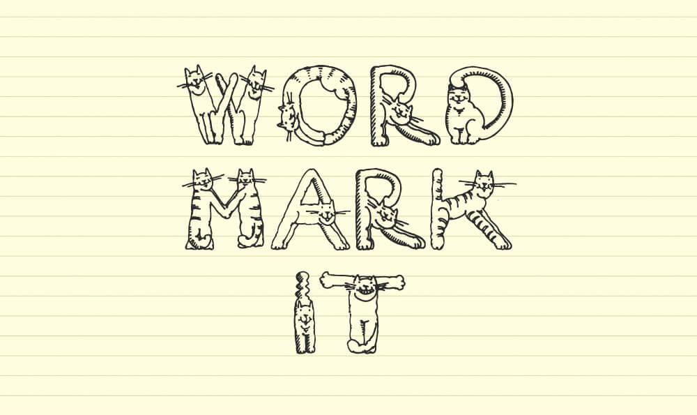 フォント選びに便利な「wordmark.it」