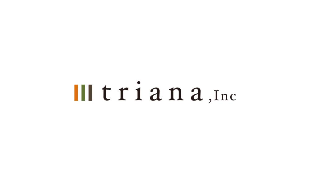 """""""トリアナ"""" 社名の由来とロゴについて。"""