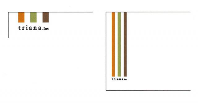 トリアナロゴは臨機応変な形状