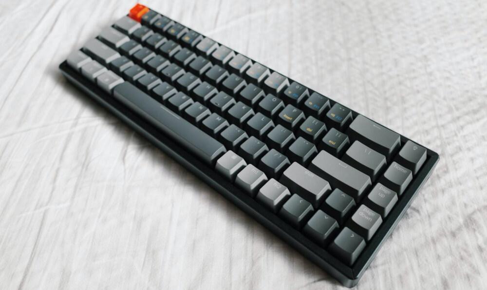 【Keychron K6】光学式スイッチ搭載!手が小さくても安心な65%サイズのメカニカルキーボードを手に入れた
