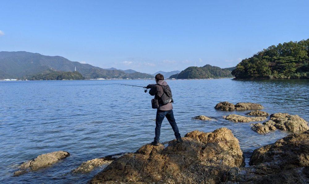 離島で釣り三昧!本土から5分で渡れる大入島で釣りしてきたよ